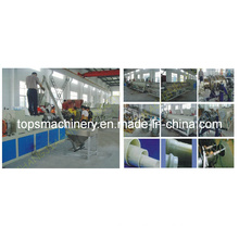 Large Diameter UPVC Pipe Extrusion Line (UPVC630)